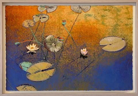 Bilde av Virtue av Maria Natalie Skjeset med ramme