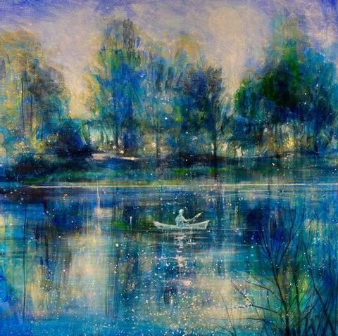 Bilde av Den blå skogen av Gro Mukta Holter