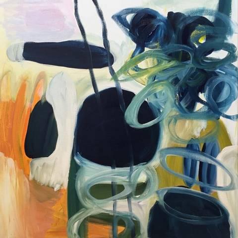 Bilde av Vår 2, maleri av Eline Smith