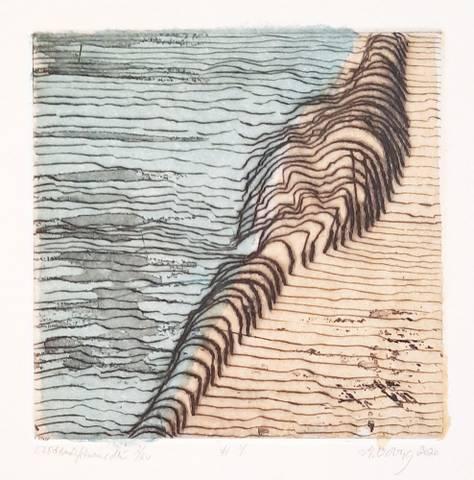 Bilde av #4 (blå/brun) av Marianne Boberg